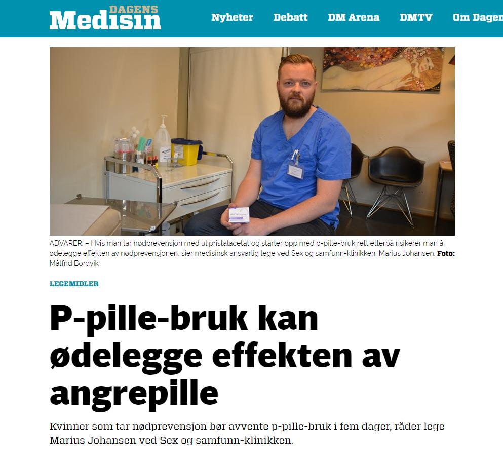 Marius Dagens Medisin 060716