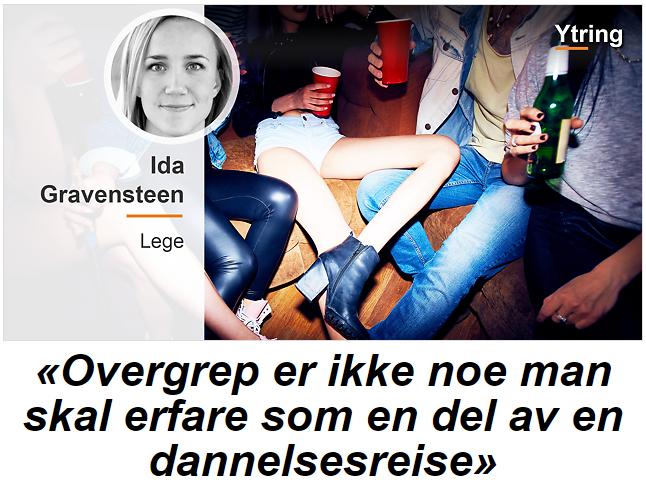 Ida Gravensteen NRK Ytring 230816 nrk.no forside
